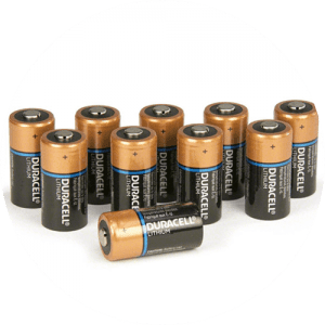 Pack of Duracell 3v Batteries