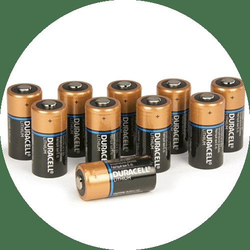 Pack of Duracell 3v Batteries