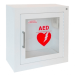 Universal AED Surface Mounted Alarmed Cabinet