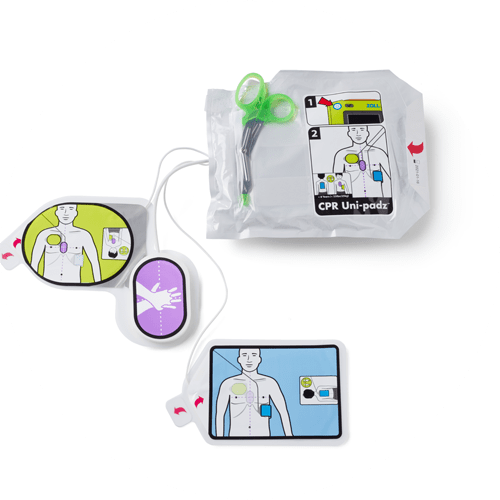 CPR Uni-Padz Universal Pads for Zoll AED 3