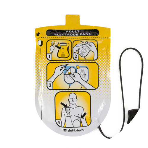 Pads for Defibtech Lifeline AED