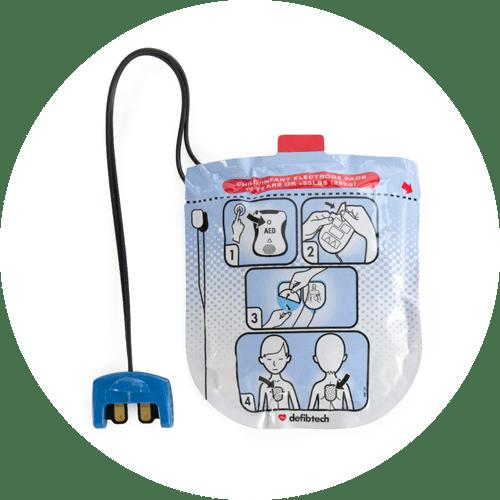Defibtech Lifeline View Pediatric Pads