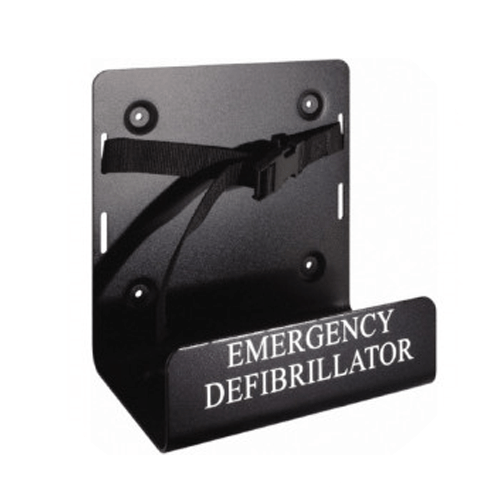 Universal wall mount bracket for AED