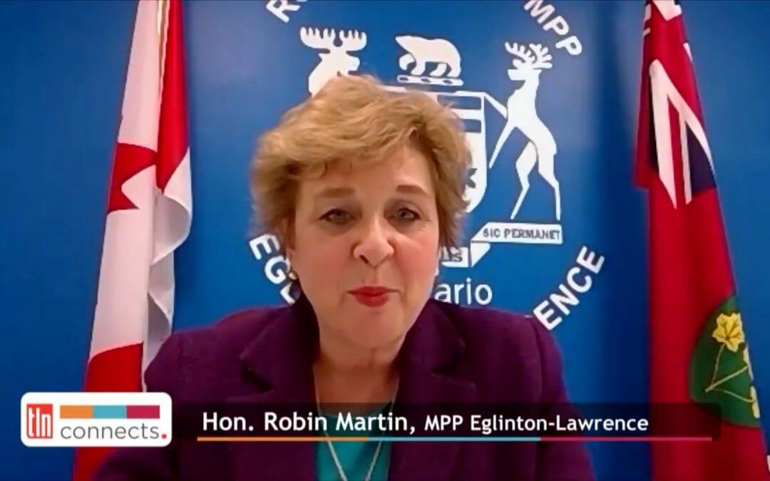 """Hon. Robin Martin, MPP, on Enacting """"Bill 141 Defibrillator Registration"""""""