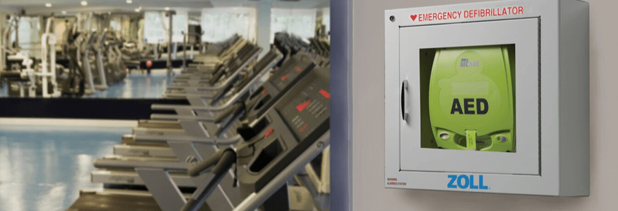 Why You Need an AED in your Fitness Center!